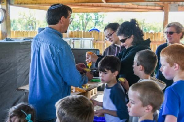 Mitzvah Garden Activities 2014