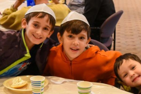 Kuluva & Goldstein Boys on Mitzvah Da